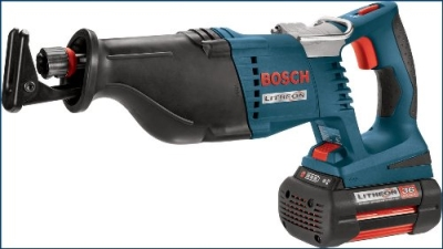 Bosch 1651K 36-Volt Cordless Reciprocating Saw Kit