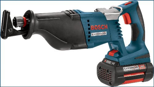 Bosch 1651k 36v cordless reciprocating saw kit reviewed the 1651k features long lasting 36v cutting torque 2 variable speed ranges twist n click blade change and comfortable ergonomic design greentooth Gallery