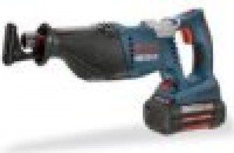 Bosch 1651K 36-Volt Cordless Reciprocating Saw Kit Review