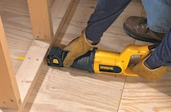 DeWalt DW304PK 10 Amp Reciprocating Saw Review