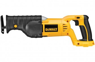 DeWalt Bare-Tool DC385B 18V Cordless Reciprocating Saw Review