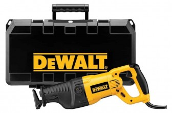 DeWalt DW311K 13-Amp Reciprocating Saw Review